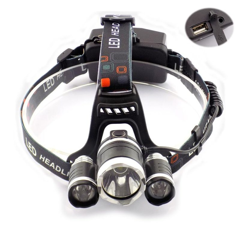Ultra-Bright-Led-Head-Light-Lamp-5000-lumens-Headlamp-USB-Port-Cree-3-T6-Outdoor-Frontal