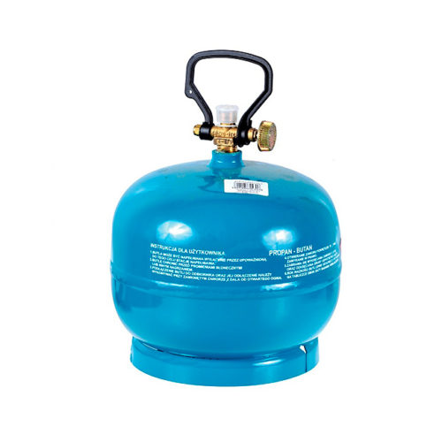 Gaz w butli turystycznej 2 kg