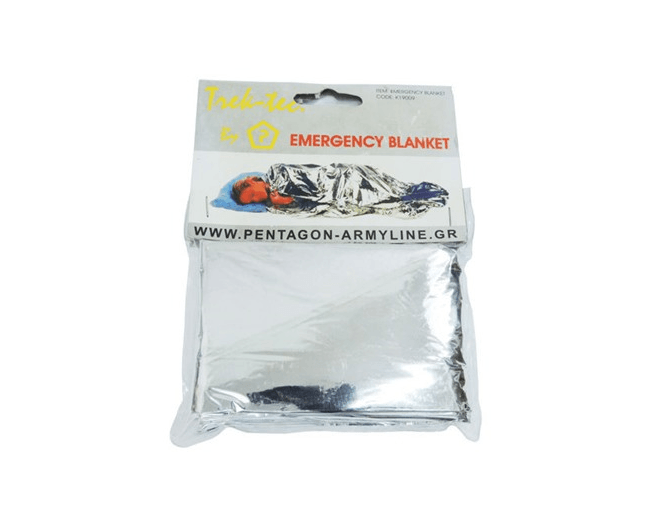 Survival-Folia termoizolacyjna Pentagon Emergency Blanke 1