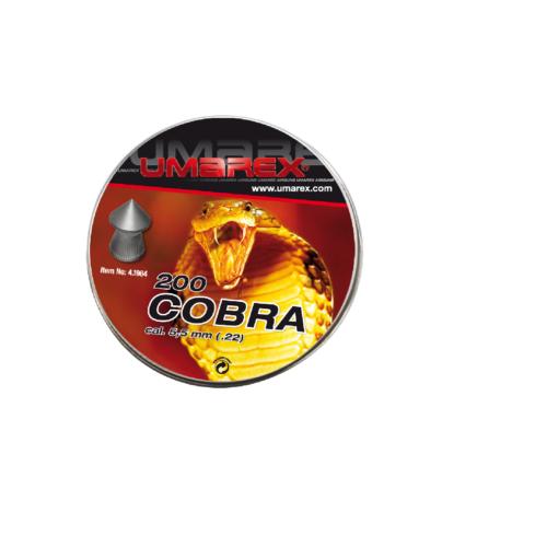 Śrut diabolo Umarex Cobra Pointed Ribbed 5,5 mm 200 szt