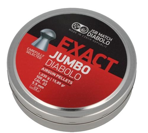 Śrut diabolo JSB Exact Jumbo 5,50 mm 500 szt.