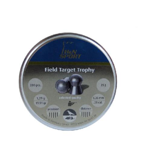 Śrut diabolo H&N Field Target Trophy 6,35 mm 200 szt.