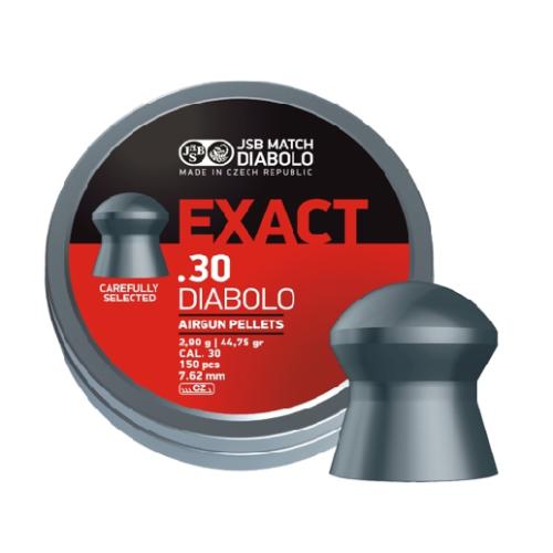 Śrut JSB Diabolo Exact .30 (7.62mm) 150 szt 2,9 g