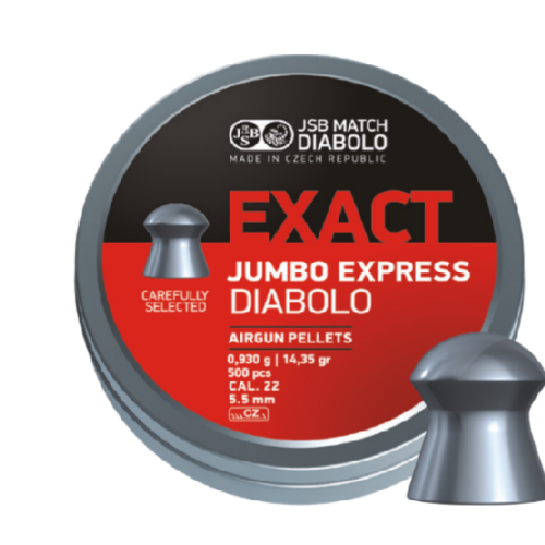 Śrut diabolo JSB Exact Jumbo Express 5.52mm 500 szt