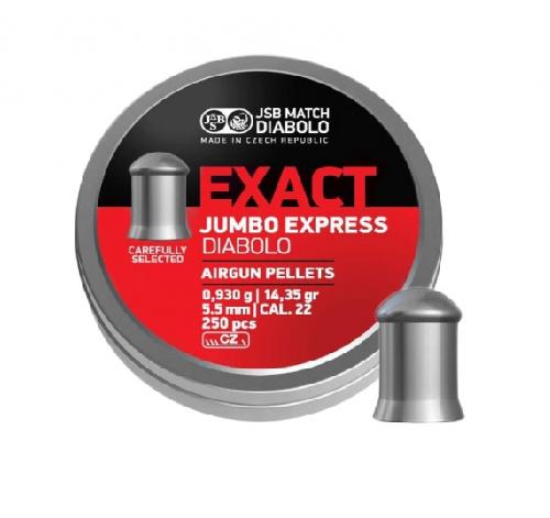 Śrut diabolo JSB Exact Jumbo Express 5,52 mm 250 szt.