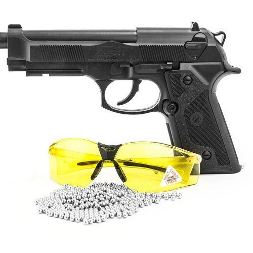 Pistolet Wiatrówka BERETTA ELITE II , okulary, kuli -zestaw