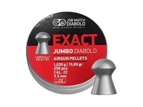 Śrut diabolo JSB Exact Jumbo 5,52 mm 250 szt.