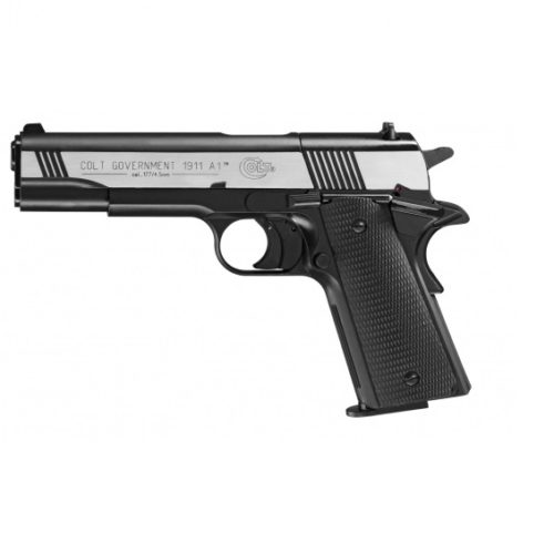 Pistolet Colt Government 1911 A1 Dark Ops 4.5 mm Diabolo