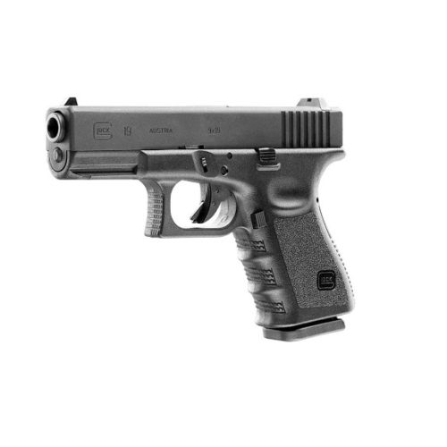 Pistolet wiatrówka Glock 19 4,5 mm BBs – Zestaw
