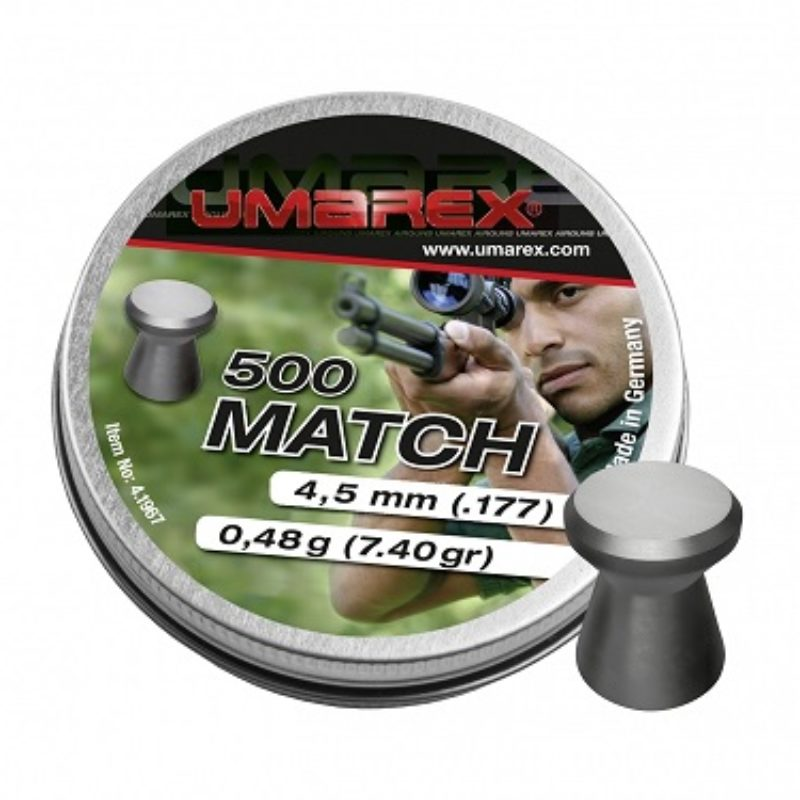 Śrut diabolo Umarex Match 4,5 mm 500 szt.