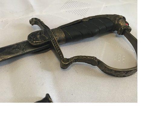 replika miecza niemieckiego C100