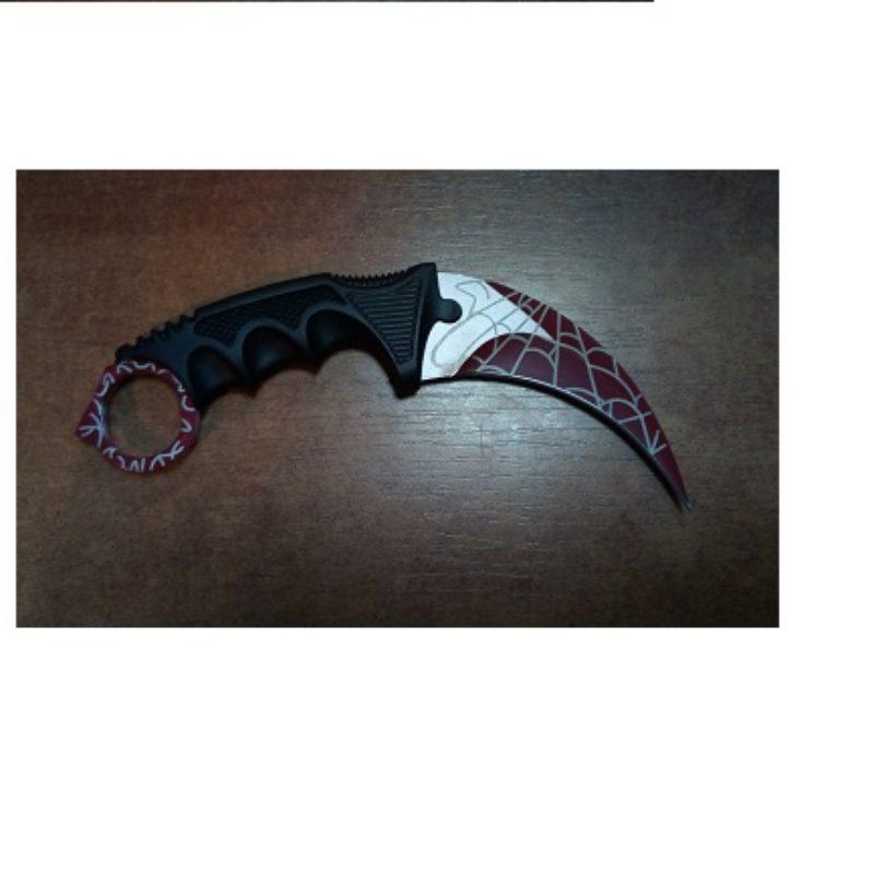 Nóż Karambit  Red Spider Counter Strike
