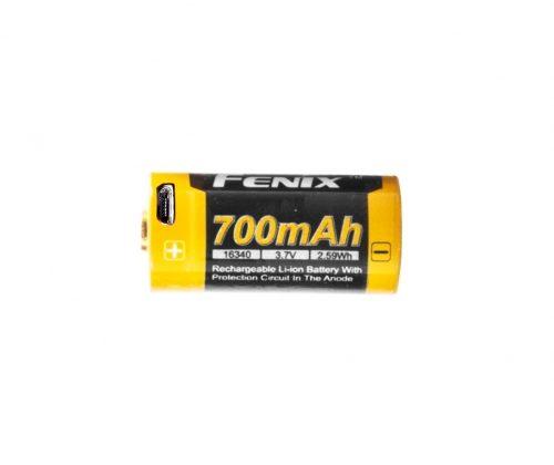 Akumulator Fenix USB ARB-L16U (16340 RCR123 700 mAh 3,7 V)