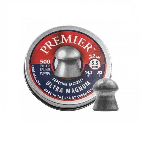 Śrut diabolo Crosman Premier Ultra Magnum 5,5 mm 500 szt.
