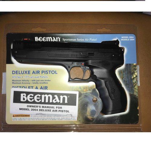 Wiatrówka pistolet PCA BEEMAN 2004 kal.4,5 mm