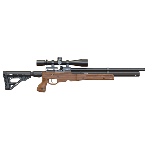 Wiatrówka PCP ATAMAN M2 TACTICAL CARBINE TYPE 3 Walnut stock  7,62mm.