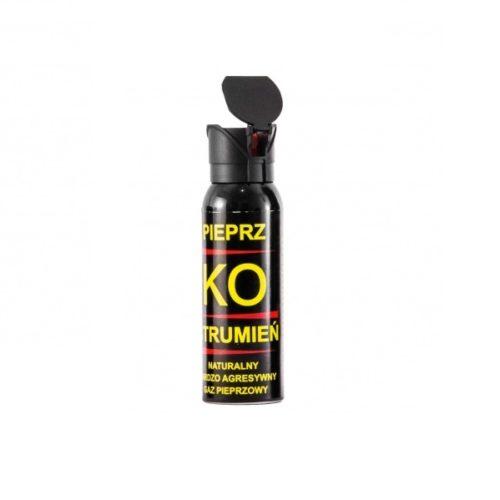 Gaz obronny pieprzowy KO JET 100 ml – strumień        Kod: 037-009