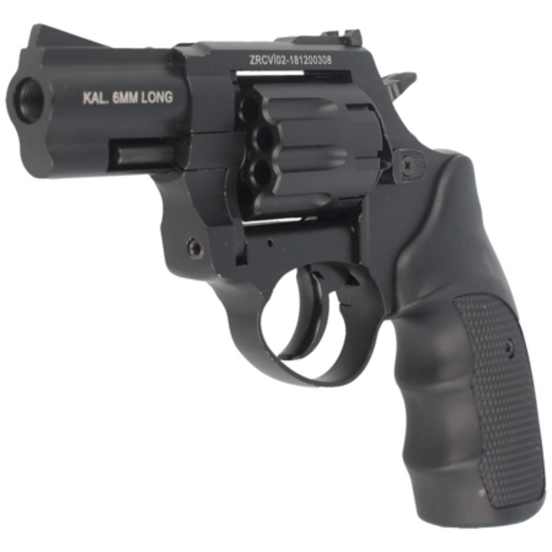 Rewolwer alarmowy Zoraki R1-2.5″ kal. 6mm long Black (R125BP)