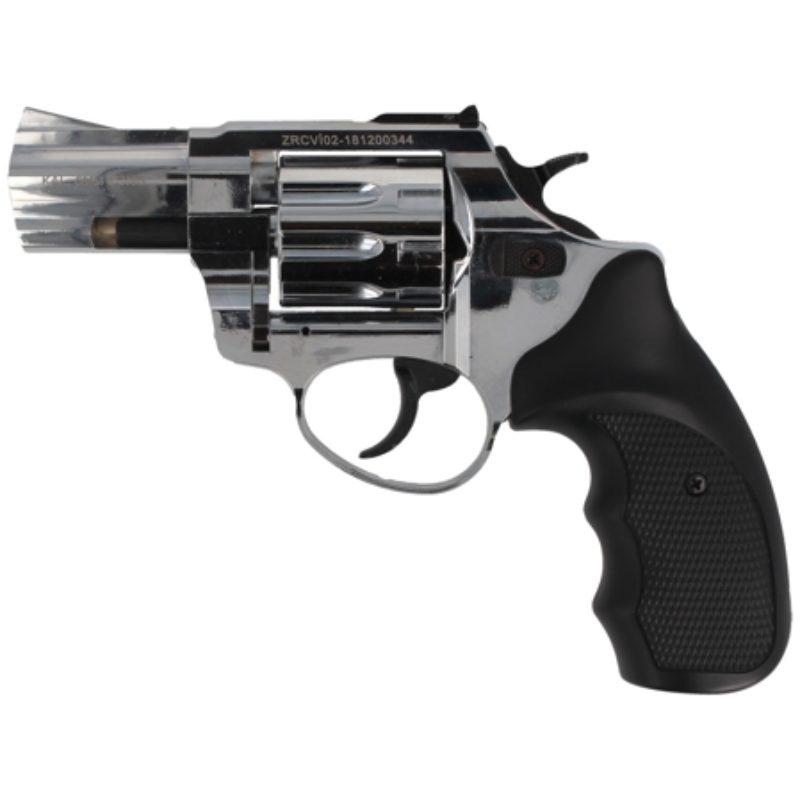 Rewolwer alarmowy Zoraki R1-2.5″ kal. 6mm long Shiny Chrome (R125SCP)