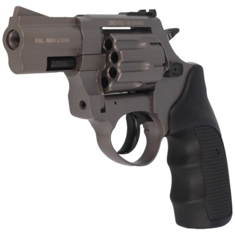 Rewolwer alarmowy Zoraki R1-2.5″ kal. 6mm long Titanium (R125GTP)
