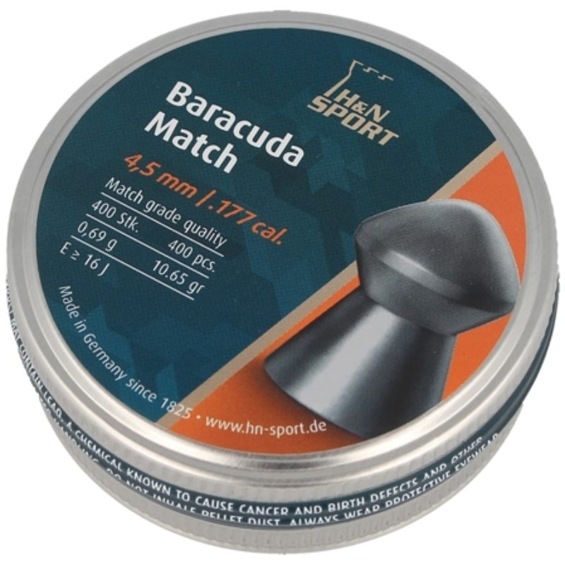 Śrut H&N Baracuda Match 4.51mm 400szt    (92284510004)