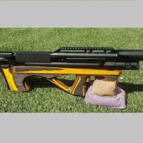 Wiatrówka PCP  EDgun  Leyla 2.0 Laminat Yellow – 6,35mm.