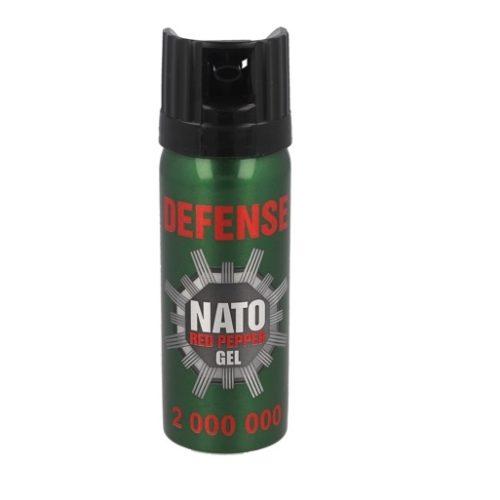 Gaz pieprzowy Sharg Defence Nato Gel 2mln SHU 50ml Cone (41050-C)