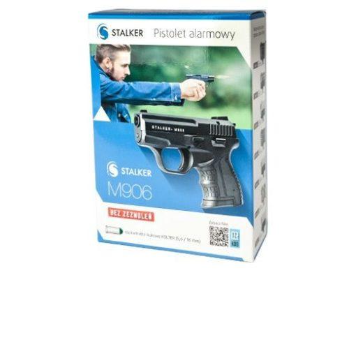 Pistolet alarmowy STALKER M906 tytan kal. do 6 mm