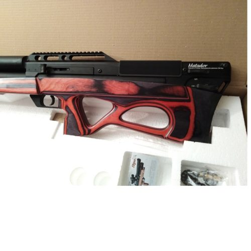 Wiatrówka PCP EDgun MATADOR R5M  Long Laminat Red  5,5mm.