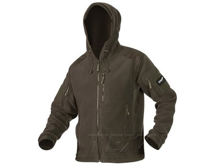 Bluza Polar Texar Husky Olive z kapturem   03-FLHU-CO