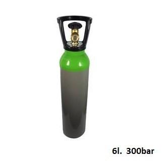 Nowa butla do PCP 450/300 Bar 6L z wolnym zaworem + kołpak