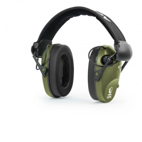 Słuchawki RealHunter Active PRO oliwkowe + okulary       Kod: 258-022