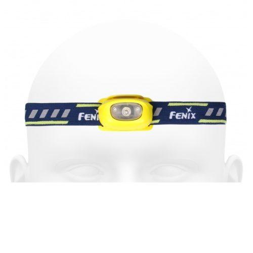 Latarka diodowa Fenix HL16 – czołówka żółta Kod: 039-314