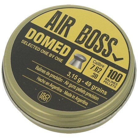 Śrut Apolo Air Boss Domed .30 / 7.62mm, 100szt (E 30201)