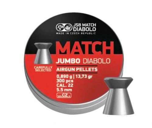 Śrut diabolo JSB Jumbo Match 5,50/300