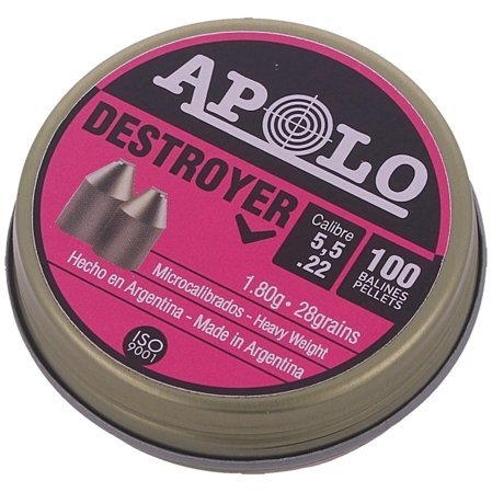 Śrut Apolo Destroyer Extra Heavy GEN-2 5.5mm – 100szt