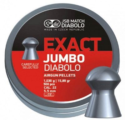 Śrut JSB Exact Jumbo 5,53 mm 500 szt.