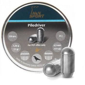 Śrut H&N PILEDRIVER kal. 4,5 mm 250 szt.