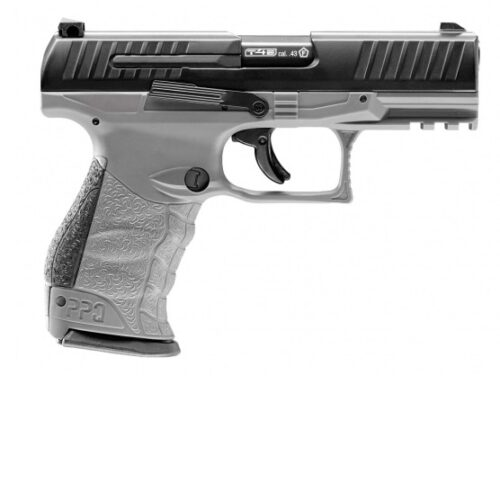 Pistolet na kule gumowe Walther PPQ M2 T4E .43 CO2 szary