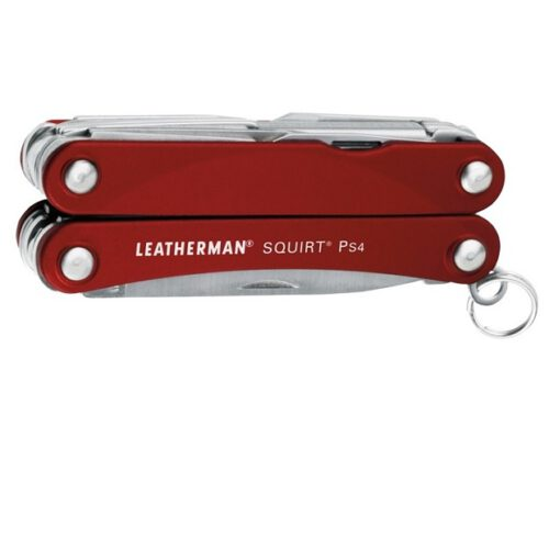 Multitool Leatherman Squirt PS4 Red  (831227)