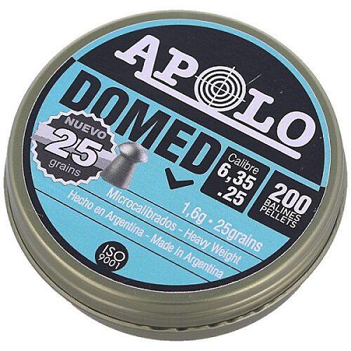 Śrut Apolo Premium Domed 6.35mm, 200szt  1,6 g.   (E 13501)