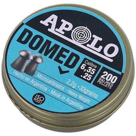 Śrut Apolo Premium Domed 6.35mm, 200szt 2.2g.  (E 19912)