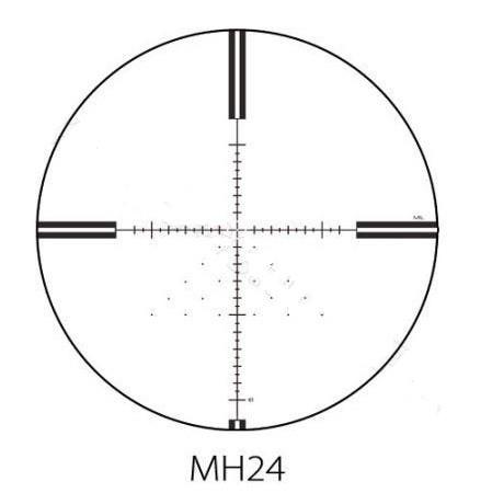Luneta celownicza Optisan EVX 6-24×50 FFP  F1 MH24