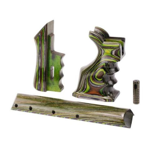 Zestaw części zamiennych do FX Impact Green Camo laminowane
