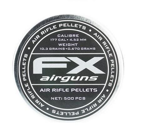 Śrut FX 4.52 mm 10.3 grain